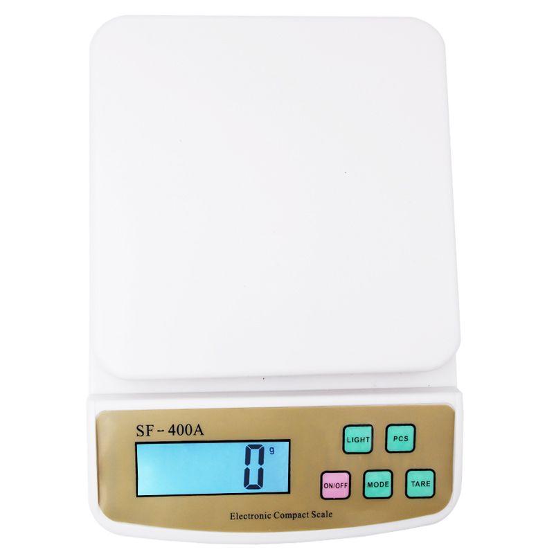 10 кг 1 г Libra цифровой Кухонные весы подсчета взвешивания электронные весы Весы SF-400A 15%