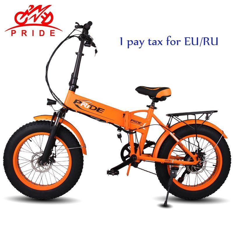 STOLZ 20 Elektrische fahrrad 48V12. 5A Lithium-Batterie Elektrische Fett Reifen bike Aluminium Faltbare 350 watt Motor elektrische Schnee bike KEINE STEUER