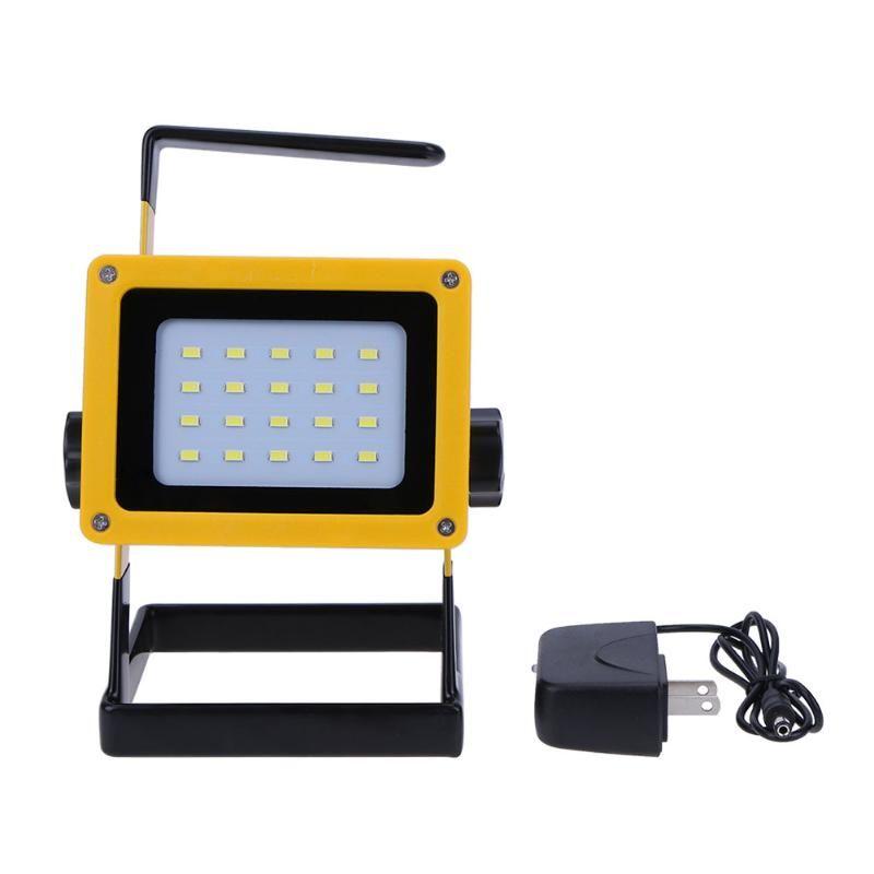 Proyectores Portátiles de emergencia Recargable 20LED Reflector Reflector Impermeable De La Aleación de Aluminio de la Lámpara de Proyección