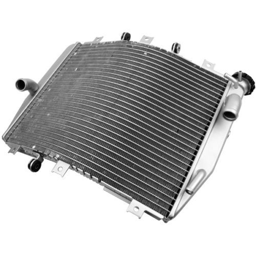 Motorcycle Aluminum Replacement Radiator Cooler Cooling For Kawasaki ZX10R ZX-10R 2004-2005