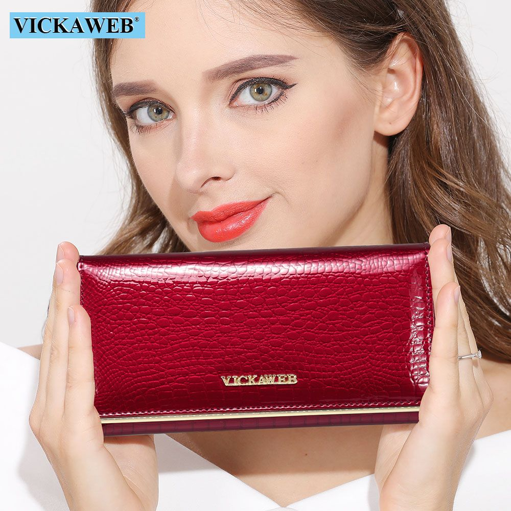 Women Wallets Brand Design High Quality Leather Wallet Female Hasp Fashion Dollar Price Alligator <font><b>Long</b></font> Women Wallets And Purses