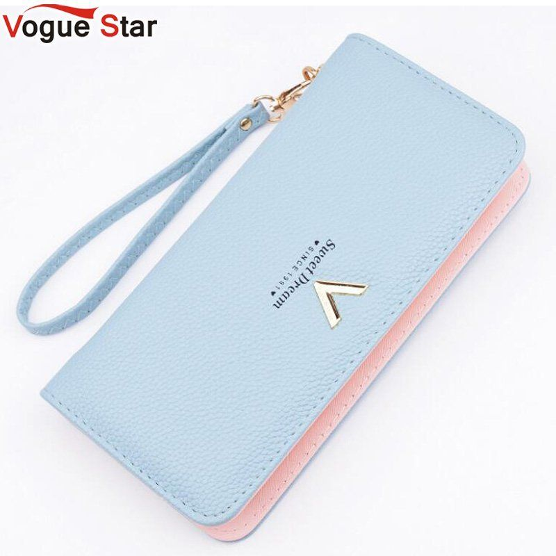 New Luxury Ladies Purses Female Brand Wallets Women Long Zipper Purse Woman Wallet Leather Card Holder Clutch Portefeuille LB513