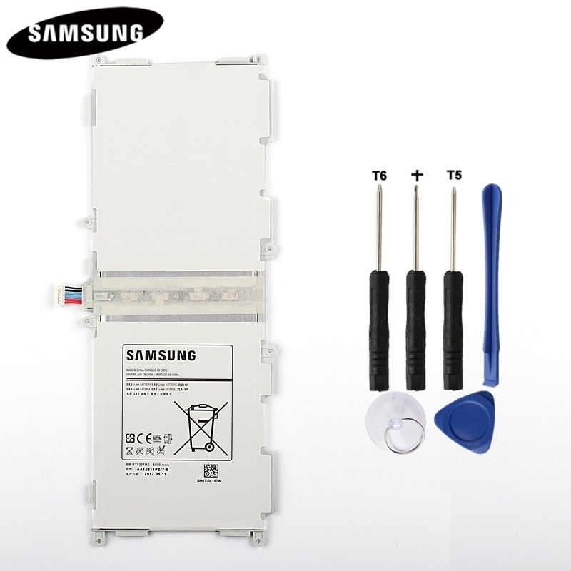 100% Original <font><b>Tablet</b></font> Battery EB-BT530FBC EB-BT530FBE For Samsung GALAXY Tab 4 T530 SM-T531 SM-T533 SM-T535 T535 SM-T537 6800mAh