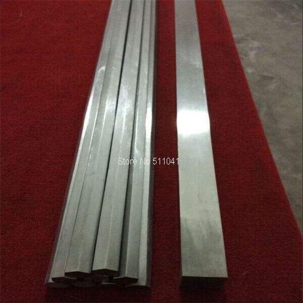 2 stücke Grade 5 Gr5Titanium solide platz bar 40x40x1600mm lange