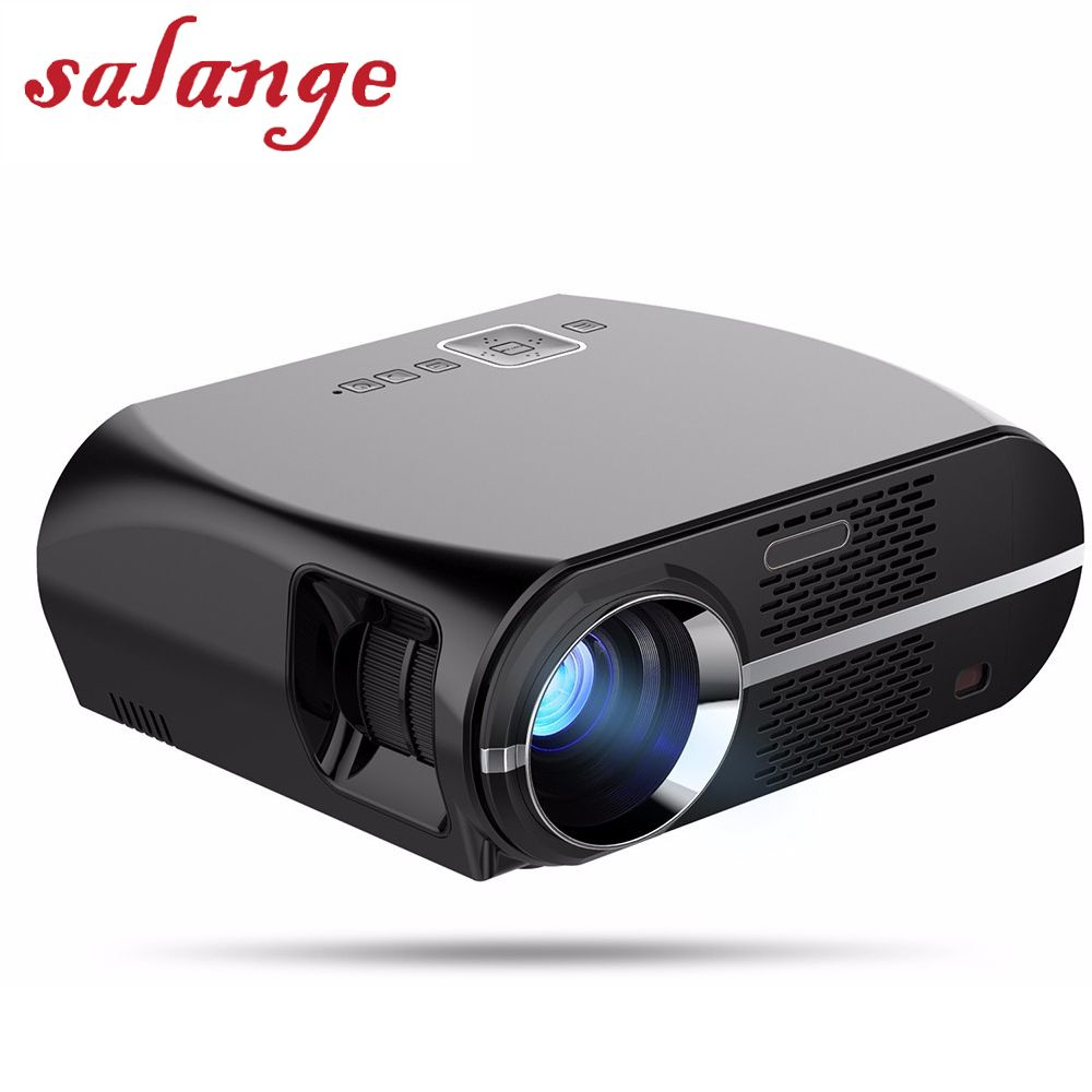 GP100 GP100UP Video Projector Smart Android 6.0.1 3200 Lumens WIFI Bluetooth Home Theater Projector 1080p HD Movie Game Beamer