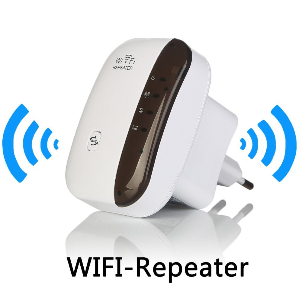 Wireless WiFi Repeater Signal Amplifier 802.11N/B/G Wi-fi Range Extander 300Mbps Signal <font><b>Boosters</b></font> Repetidor Wifi Wps Encryption