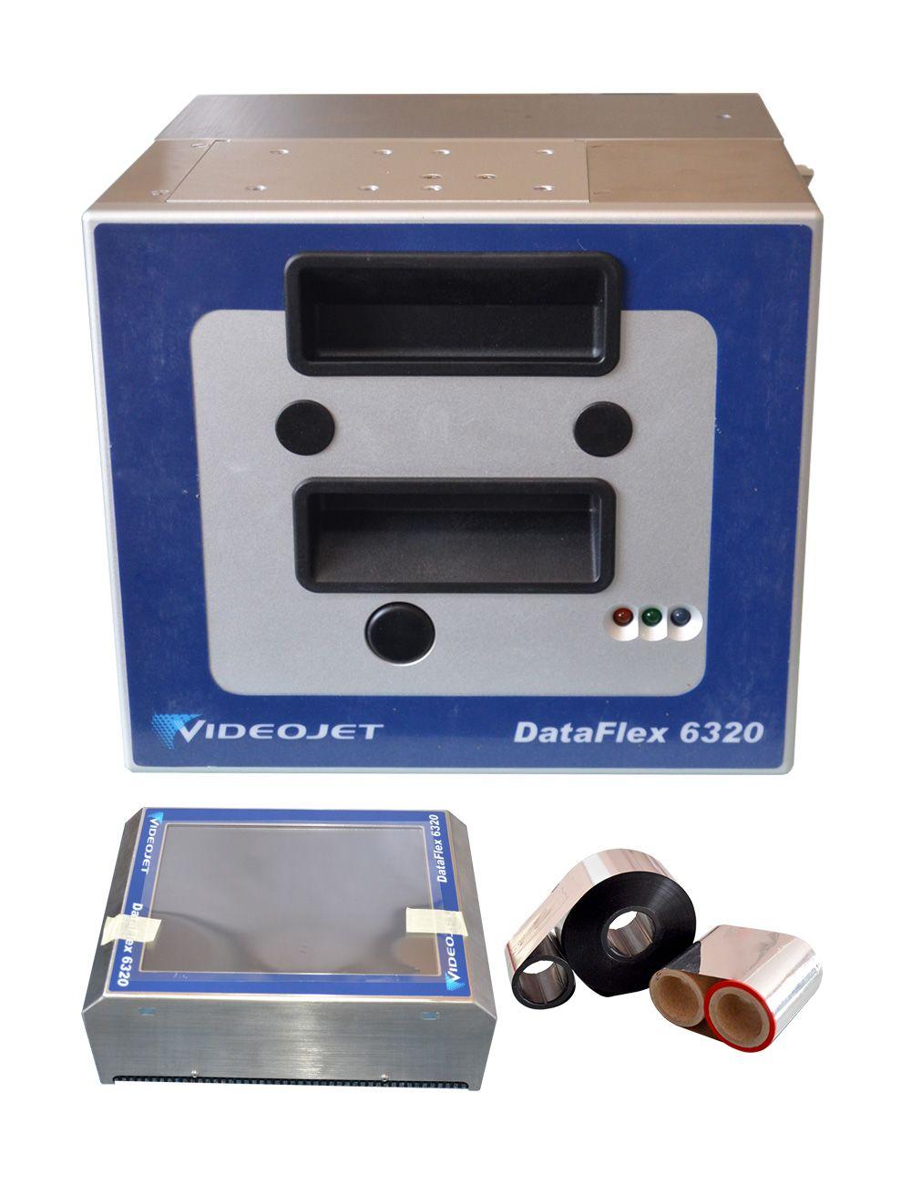 6320 typ videojet thermische transfer aufdruck druck für russische lebensmittel fabrik