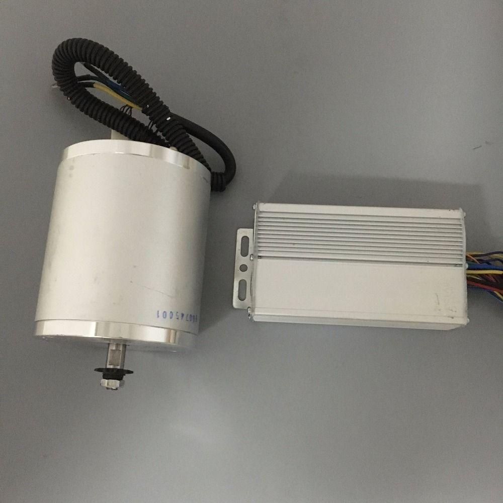 48 V 1500 Watt Motor Controller Stick Hoher Geschwindigkeit Bürstenlosen Gleichstrommotor 5000 RPM Elektrische Ebike Roller Brushless Motor kits