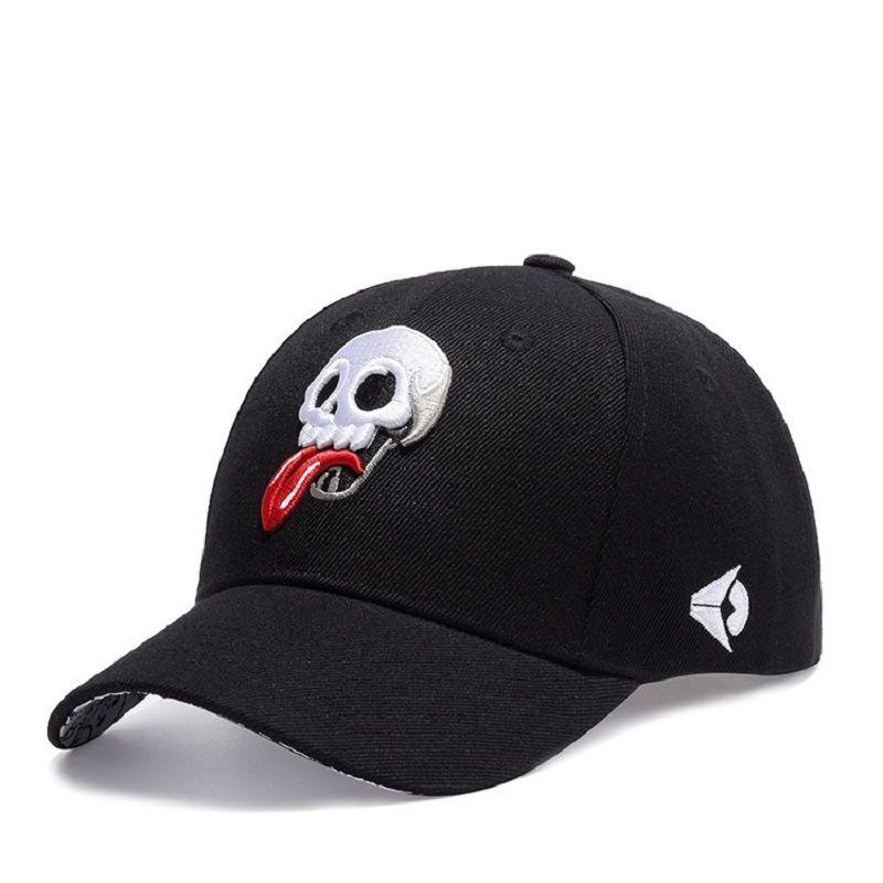 Модные Новое поступление Snapback Hat Bone на кнопках сзади Gorras Для мужчин хип-хоп Кепки Бейсбол Кепки мода череп плоский шляпе