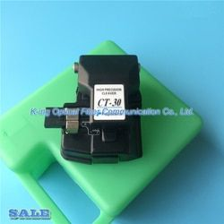 Made in china Fujikura Fiber cleaver CT-30 High Precision Cleaver with case Optical fiber cutting knife CT-30A Fiber Cleaver