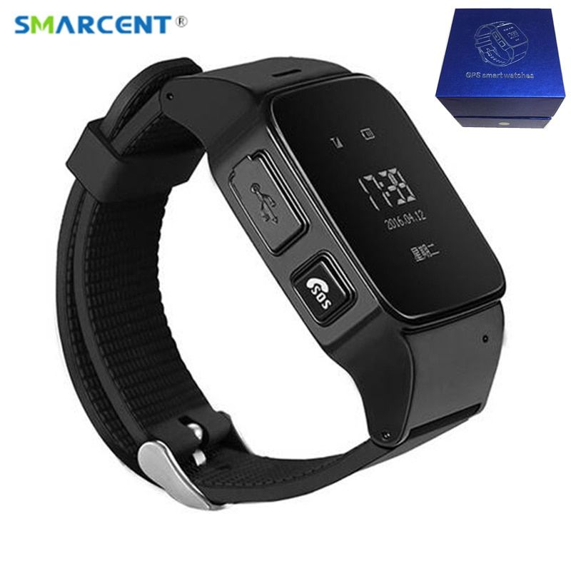D99 Smart Watch D99 Elderly kids Smart Watch Phone SOS Anti-lost Gps+Wifi Tracking watch for iphone Android phones Old Men Women
