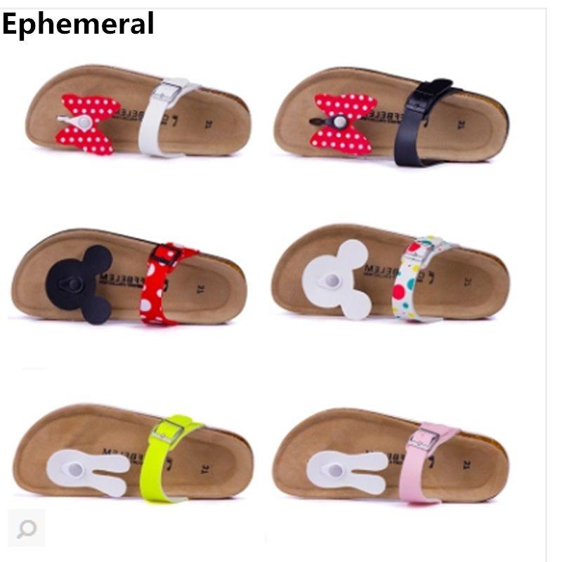 2018 doux pantoufle fpr femmes papillon mignon de bande dessinée flip flops pour adultes anti-glissante diapositives femmes d'été plage chaussures max taille 41
