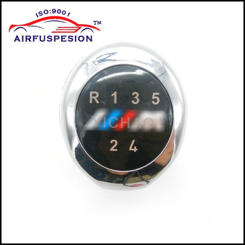 Free Shipping 5 Speed Gear Shift Knob FOR BMW 1 3 5 6 Series E30 E32 E34 E36 E38 E39 E46 E53 E60 E63 E83 E84 E90 E91 X1 X3 X5 X6