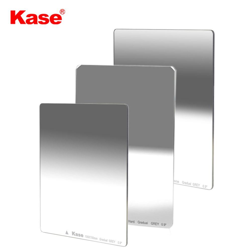 Kase 100x150mm Nano MC Multi-coated Optical Glass Soft Hard Reverse Graduated Neutral Density Filter GND0.9 0.6 1.2 1.5 ND16 8 4