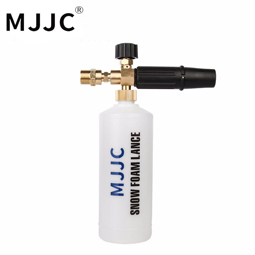 MJJC Marque Neige 2017 Mousse Lance avec M22 Filetage Mâle Adaptateur Connexion avec Haute Qualité