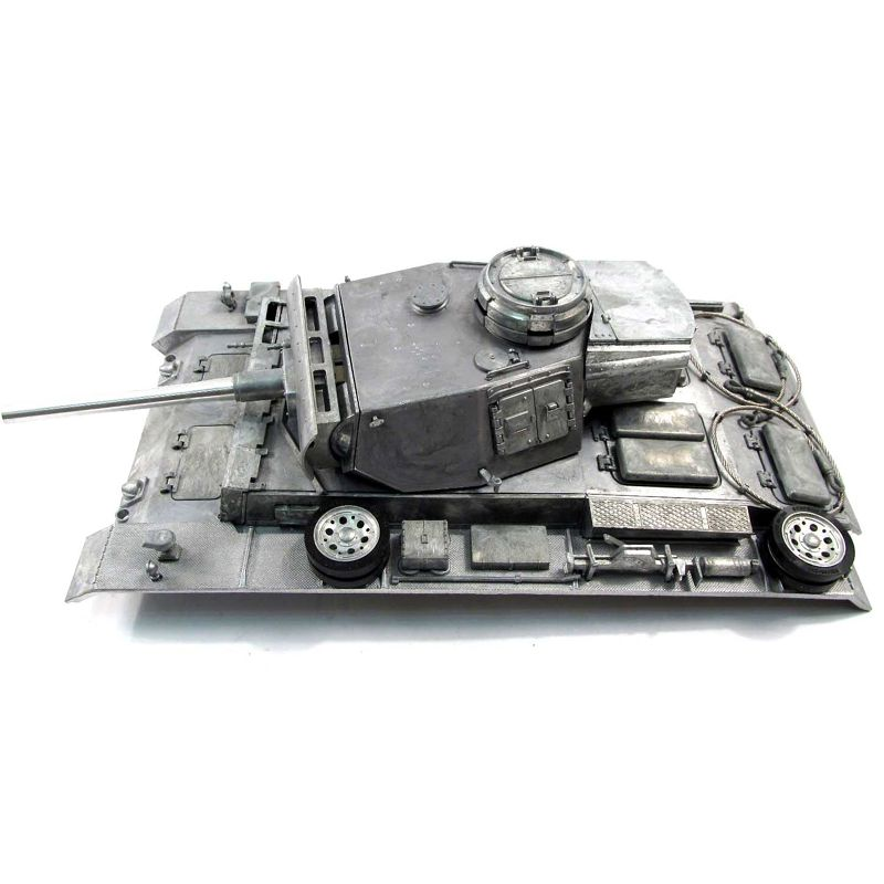 Mato Metall Aktualisiert Teile Ober Hull Mit Revolver Für 1/16 1:16 RC Panzer III Tank