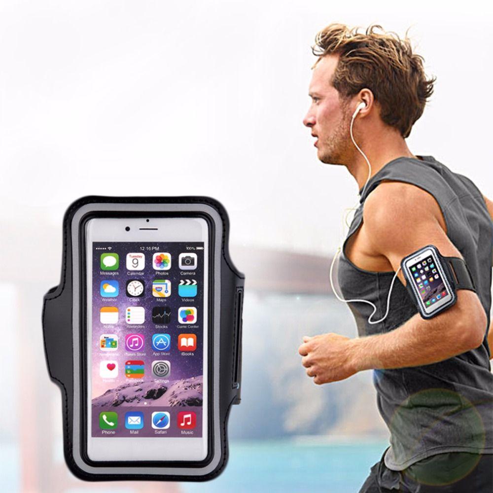 Бег сумки спортивные упражнения Бег Armband спортзала Чехол держатель сумка для сотового телефона Бесплатная доставка