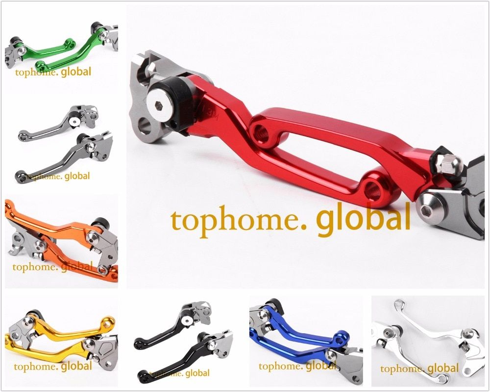 For Honda CR80R CR85R 1998 - 2007 CNC Pivot Brake Clutch Levers Replacement Lever Pair 1999 2000 2001 2002 2003 2004 2005 2006