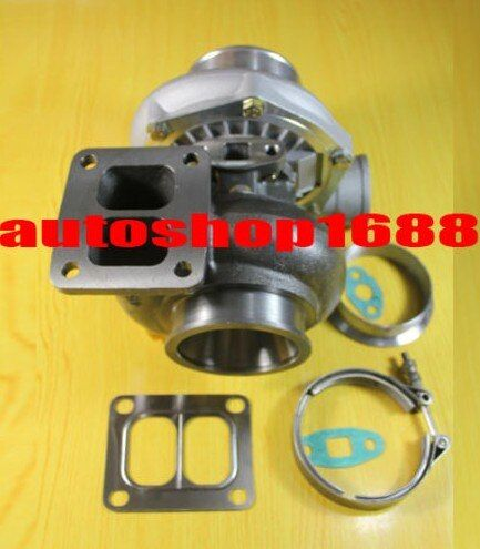 T04Z-11 T70 Compressor a/r0.70 anti-surge Turbine a/r1.15 T4 just oil cooled 500hp-600hp journal bearing turbo turbocharger