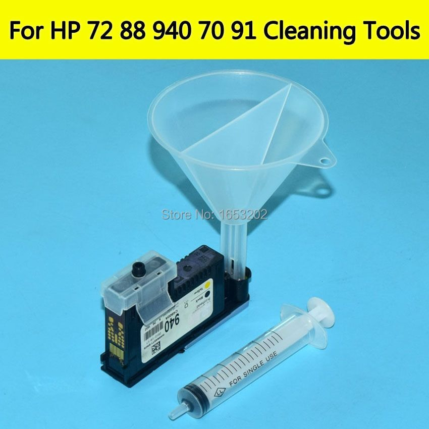 Printhead Cleaning Tools For HP940 706 88 70 72 91 Print Head Nozzle For HP D5800 Z2100 Z5200 Z6100 850 1200 8500 Printer