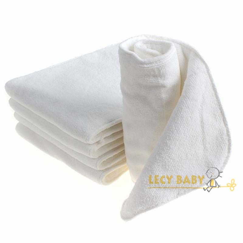 Free shipping 1pc 4 layers microfiber diaper insert, absorbent inserts for adult cloth diaper, 20*49cm big size nappy liner