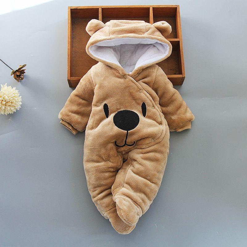Bébé vêtements garçon filles vêtements coton nouveau-né bambin barboteuses mignon infantile nouveau-né hiver vêtements