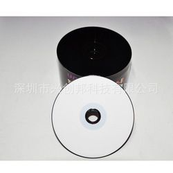 Wholesale 10 Discs Blank Black and White Printable 700 MB CD-R Discs