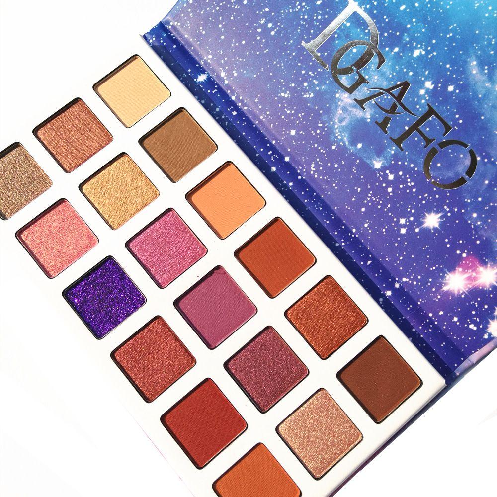 DGAFO Ombre À Paupières Palette De Maquillage Fard À Paupières longue durée Naturel Mat Shimmer Facile À Porter Maquillage 18 Palette