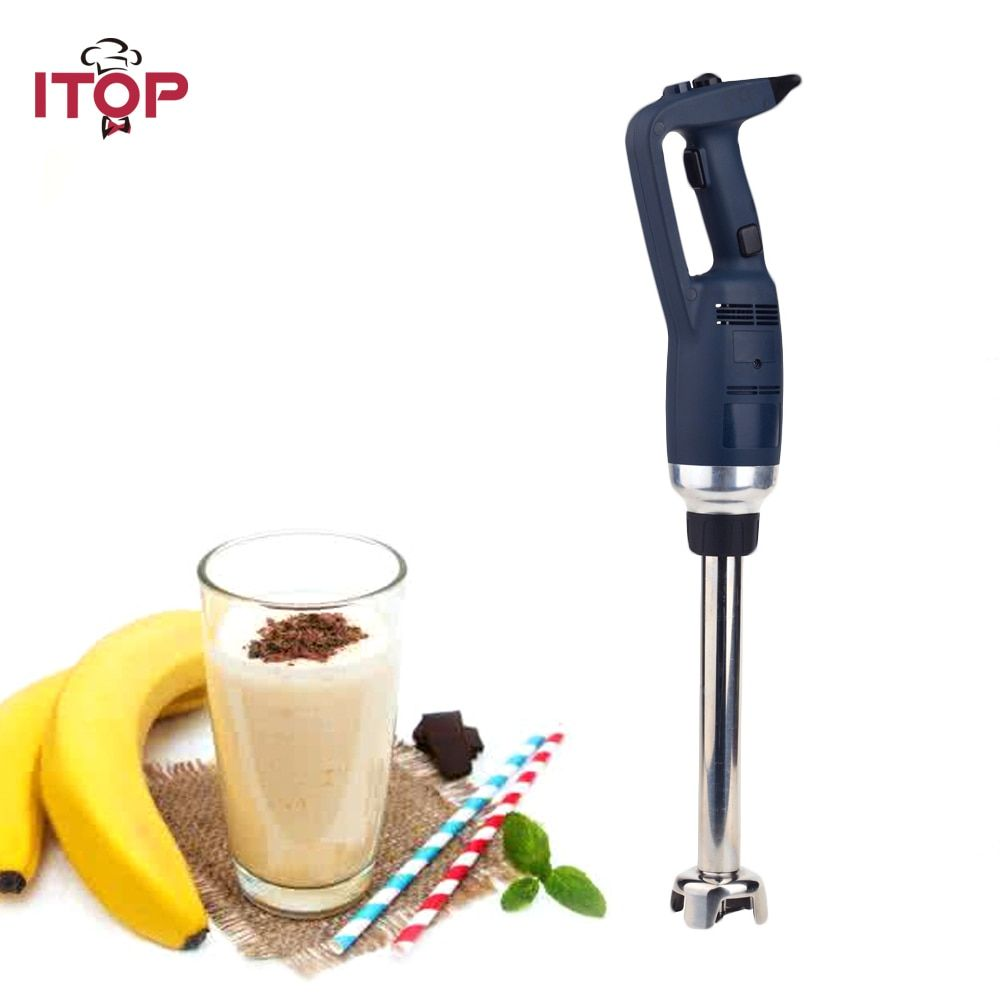 ITOP 350W Commercial Heavy Duty Immersion Blender Variable Speed Hand held Smoothies Blender Food Mixers 110V 220V 240V