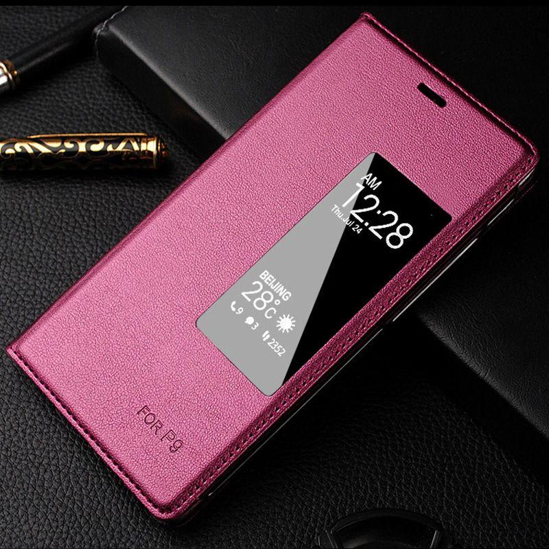 NKOBEE Pour huawei étui En Cuir D'origine pour huawei P9 p9 Mobile Téléphone Funda Pour Huawei Ascend P9 Couverture 5.2 ''Flip Téléphone portable