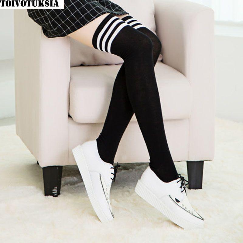 Toivotuksia женский Чулки для женщин высокие Носки для девочек Для женщин Чулки для женщин теплые носки гольфы калготки Для женщин гетры
