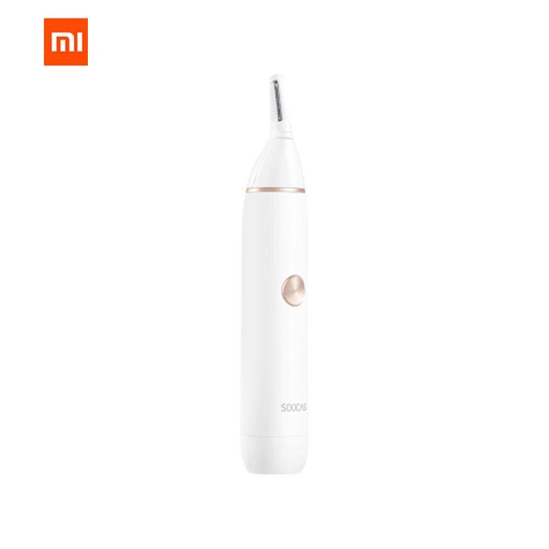 Original XIAOMI Mijia Soocas IPX5 tondeuse à cheveux étanche nez tondeuse à sourcils lame tranchante sans fil nettoyant Nasal pour hommes femmes