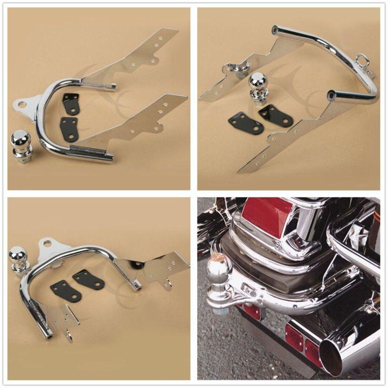 Chrome Trailer Hitch For Harley Touring Road King FLHTCUI Electra Glide Ultra Classic FLHT FLHR FLT FLHTC FLHRI FLTCU