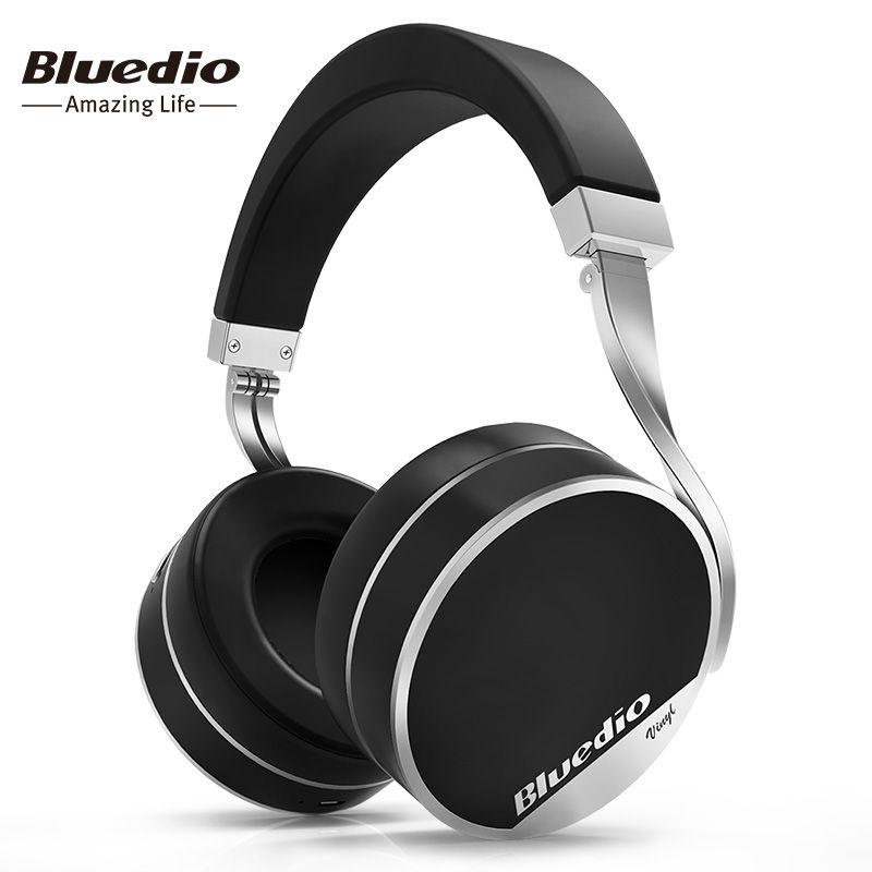 2018 Top Fashion New Headband 3.5mm Earphone Bluedio Vinyl Plus Light Extravagance Wireless Bluetooth Headphones/headset