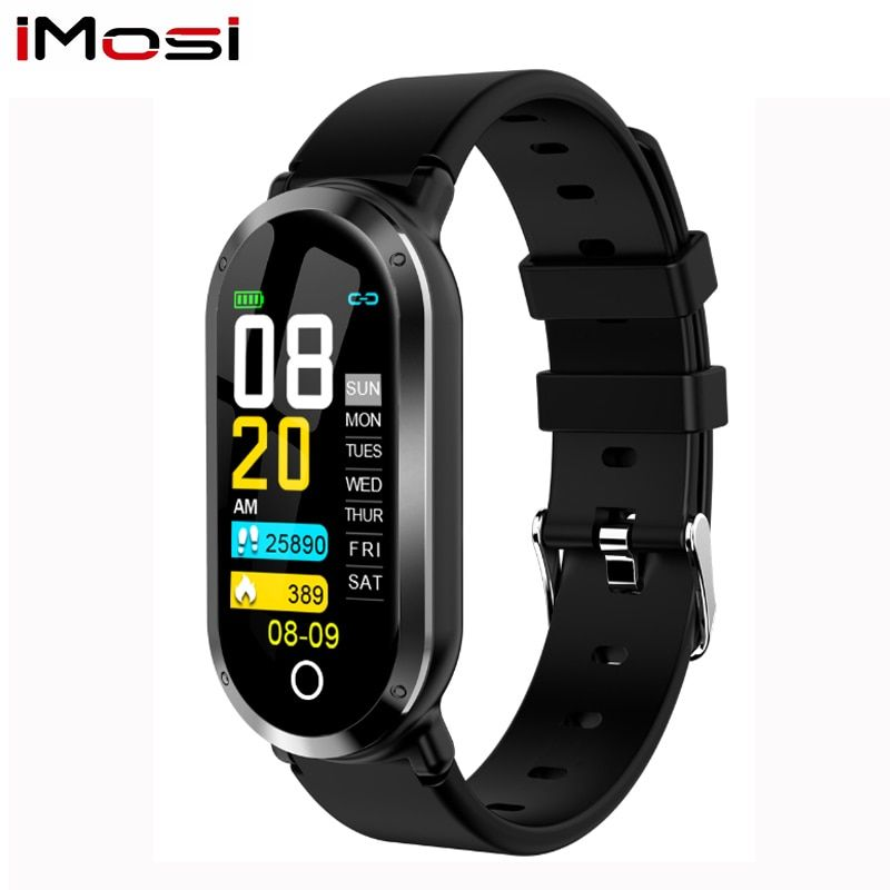 T1 Smart Wristband Woman Fitness Bracelet Heart Rate Blood Pressure Monitor Fitness Tracker Watch Pedometer Sport Band for ios