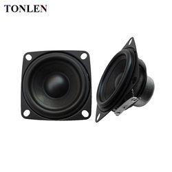 TONLEN 2PCS 2inch 10 W 4 ohm Audio Speaker Full Range Speaker Computer Portable Combination Speakers 52mm Home Theater Subwoofer