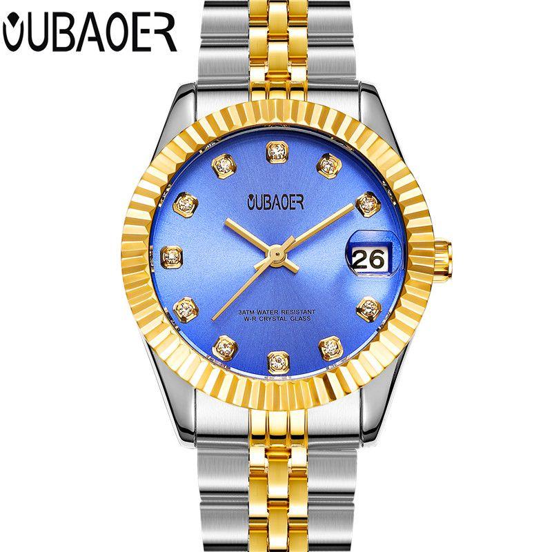 OUBAOER Quartz Watch Women Watches Brand Luxury Female Clock Women Lady Quartz-watch horloges vrouwen Relogio Feminino relogios