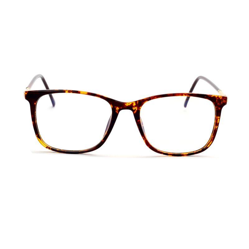 Petit Carré Demi-Trame de Lecture Lunettes Femmes Hommes HD Résine Lens lunettes de Presbyte pour Lecture KR001-020