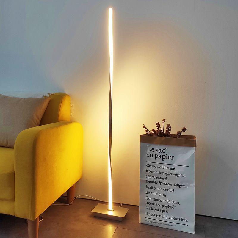 Design nordique lampadaire LED lampe sur pied moderne vloerlamp lampadaires pour salon lampadaires livraison gratuite SG631256
