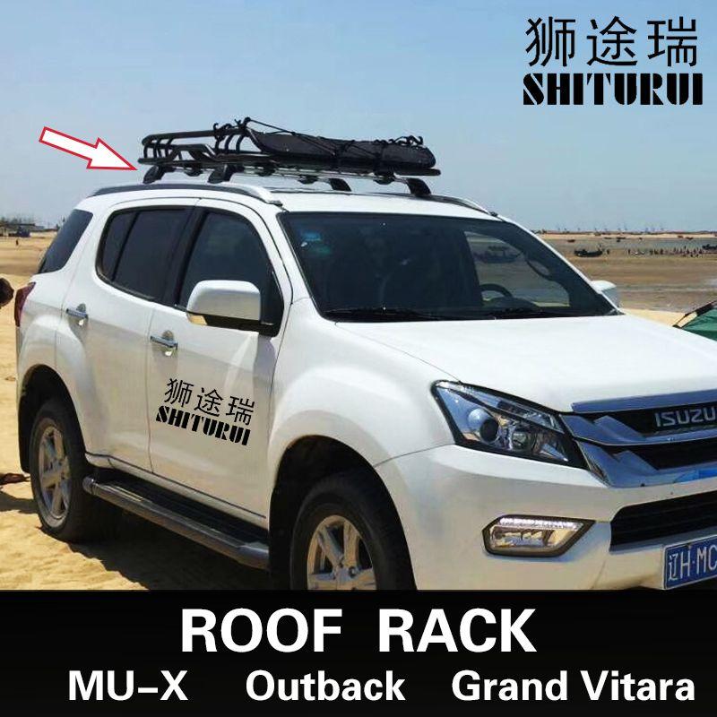 FOR Isuzu MU-X SUBARU Outback 2007-2018 Suzuki Grand Vitara Car bald section mute section cross bar load bar aluminum alloy