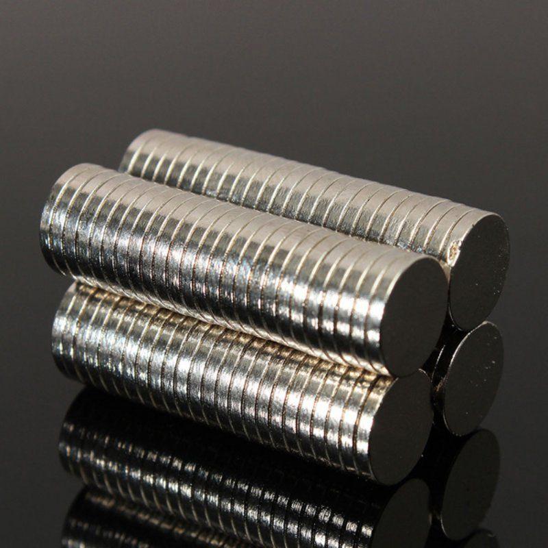 50 pcs 8mm Dia x 1mm petits aimants à disque néodyme mince N52 artisanat renaître réfrigérateur bricolage NdFeB matériaux magnétiques