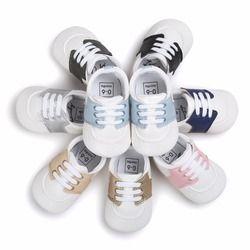 Mode Enfants Prewalker Enfants Garçon et Fille Bébé chaussures de Sport Non-slip Sneakers Sapatos Infantil Bebe Doux Premiers marcheurs lit Chaussure