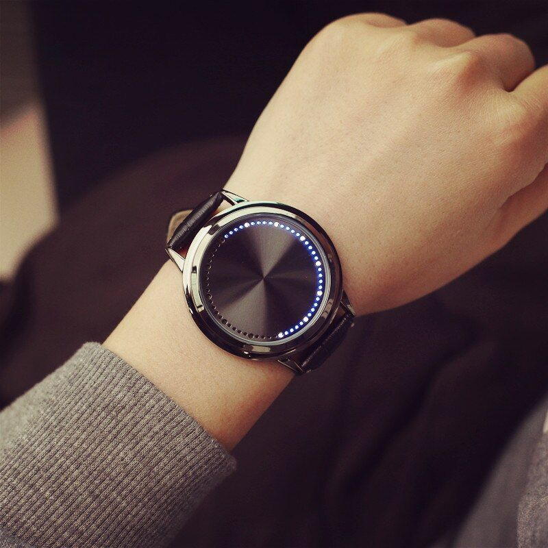 Hot Sale Unique Wrist Watch Men Watch Fashion Digital Men's Watch LED Mens Watches Clock saat erkek kol saati reloj hombre