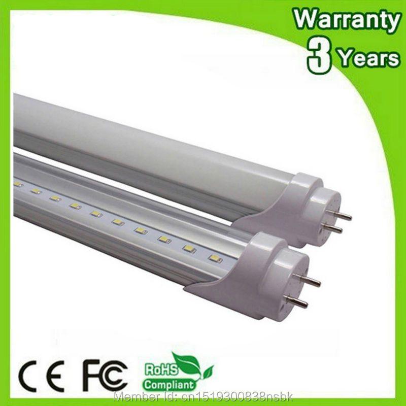 (10 PCS/Lot) Epistar Puce 3 Ans de Garantie 2ft 3ft 4ft 5ft 600mm 900mm 1200mm 1500mm T8 LED Tube lumière Lampe Fluorescente Lumière Du Jour
