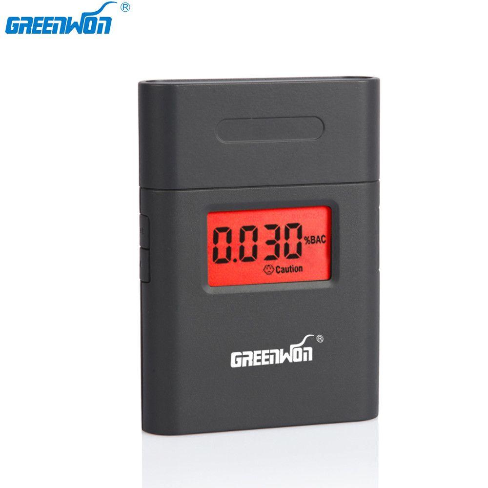 GREENWON vente chaude professionnel numérique testeur d'alcool respiratoire alcootest AT838 livraison directe gratuite