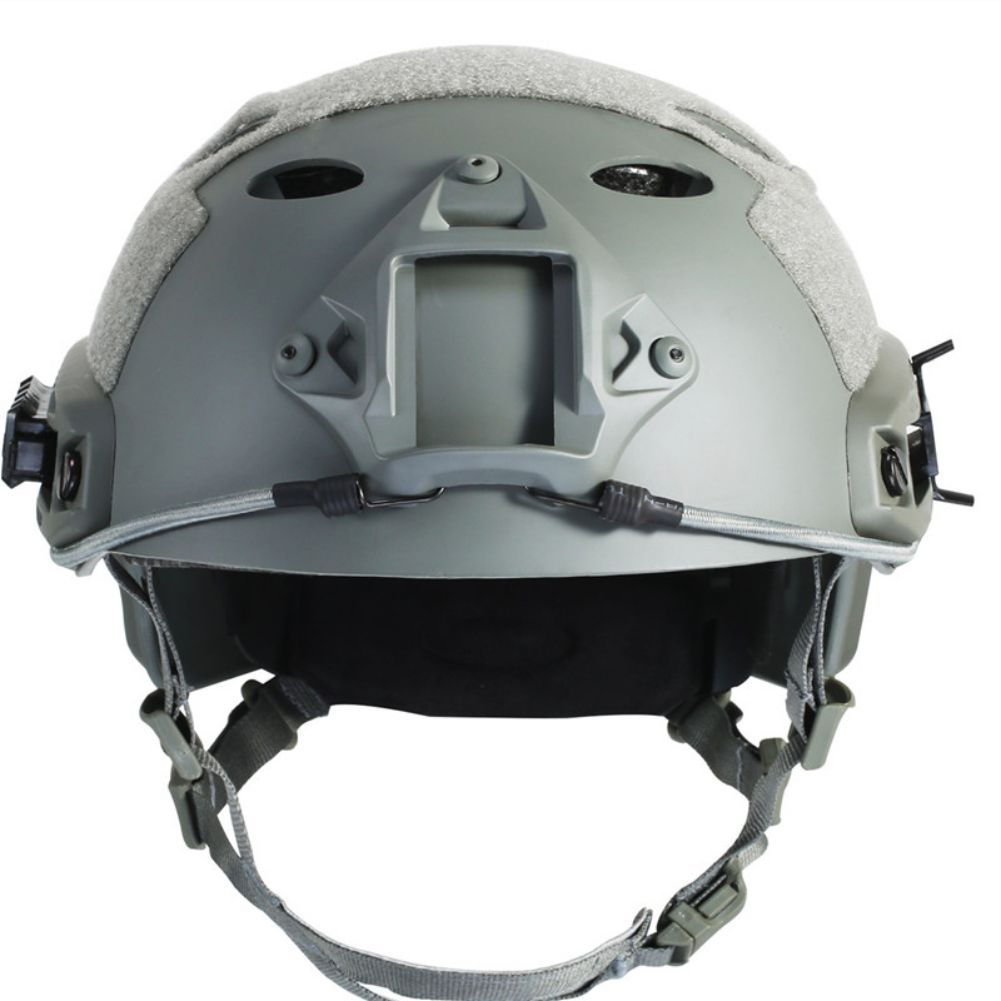 New Outdoor Black FG OCC Dial NIJ Level IIIA 3A FAST High Cut Bulletproof Ballistic Kevlar Helmet