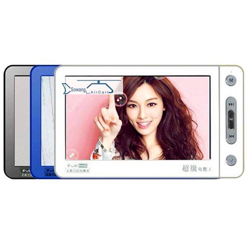 DURCH. ideal Mp5 MP4 Musik-player 8G 5 Zoll Touch Screen Unterstützung TV Out Musik Video Aufnahme bild Rechner E-wörterbuch