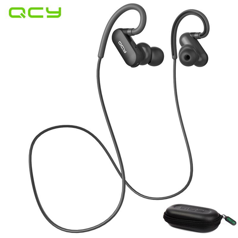 QCY QY31 IP4X Waterproof headphones wireless sports bluetooth V4.1 headset in-ear noise cancelling earbuds gamer and box