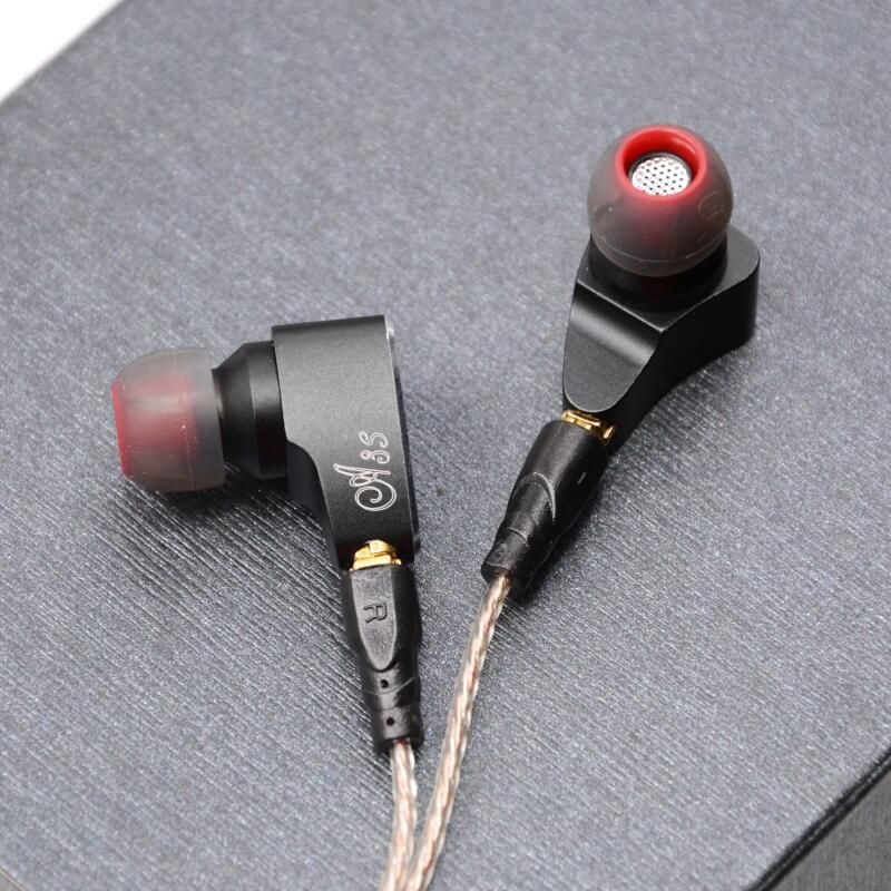 LZ A3S 2BA+1DD Hybrid 3 Unit In Ear Earphone HIFI Earphone Metal Earphone Headset Earbud With Detachable Detach MMCX Cable