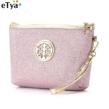 eTya New Women Makeup bag Ladies Cosmetic Bags Makeup Pouch Necessarie Toiletry Travel Organizer Bag Case Pouch
